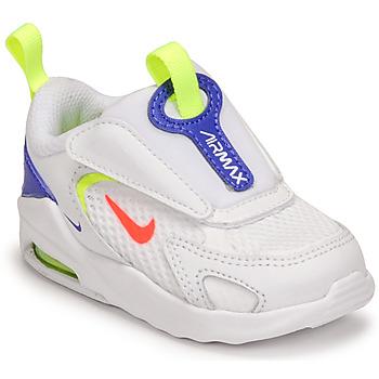 Chaussures Enfant Baskets basses Nike AIR MAX BOLT TD Blanc / Bleu