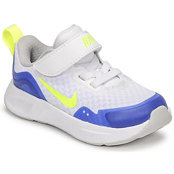 Chaussures Enfant Multisport Nike NIKE WEARALLDAY Blanc / Bleu / Vert