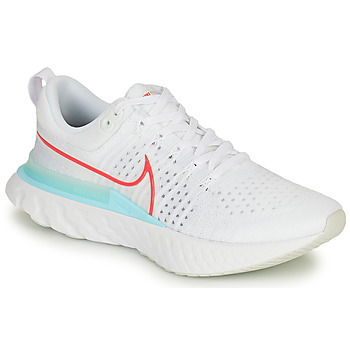 Chaussures Homme Running / trail Nike NIKE REACT INFINITY RUN FLYKNIT 2 Blanc