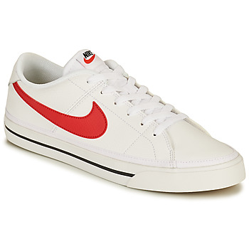 Chaussures Homme Baskets basses Nike NIKE COURT LEGACY Blanc / Rouge