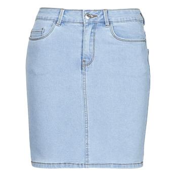 Vêtements Femme Jupes Vero Moda VMHOT SEVEN Bleu clair