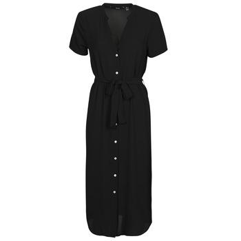Vêtements Femme Robes courtes Vero Moda VMSAGA Noir
