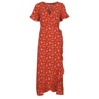 Vêtements Femme Robes longues Vero Moda VMSAGA Rouge