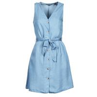 Vêtements Femme Robes courtes Vero Moda VMVIVIANA Bleu clair