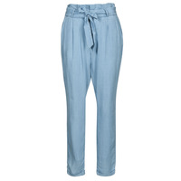 Vêtements Femme Chinos / Carrots Vero Moda VMVIVIANAEVA Bleu clair