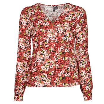 Vêtements Femme Chemises / Chemisiers Vero Moda VMSIMPLY EASY Rouge