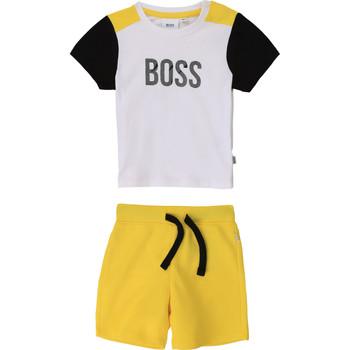 Vêtements Garçon Ensembles enfant BOSS COLITA Multicolore