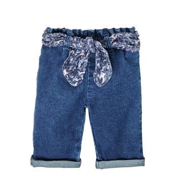 Vêtements Fille Jeans droit Ikks XS29000-86 Bleu