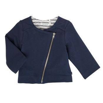 Vêtements Fille Gilets / Cardigans Ikks XS17030-48 Marine