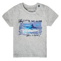 Vêtements Garçon T-shirts manches courtes Ikks XS10031-24 Gris