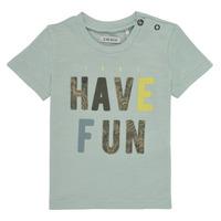 Vêtements Garçon T-shirts manches courtes Ikks LEBRA Bleu