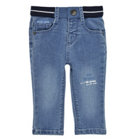 Vêtements Garçon Jeans slim Ikks RIRINA Bleu