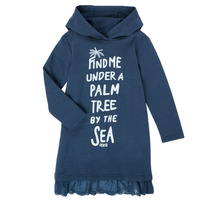 Vêtements Fille Robes courtes Ikks COMPREANO Marine