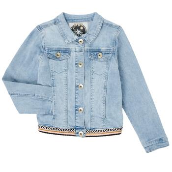 Vêtements Fille Vestes en jean Ikks XS40152-84-C Bleu