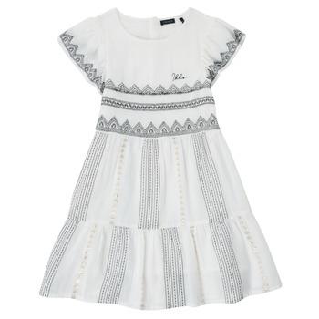 Vêtements Fille Robes courtes Ikks FRANNO Blanc