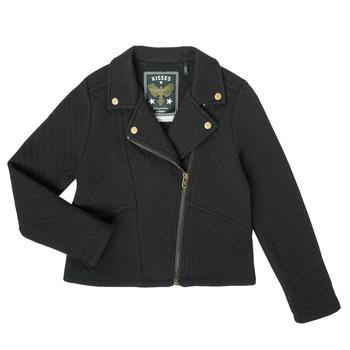 Vêtements Fille Gilets / Cardigans Ikks XS17012-02-C Noir