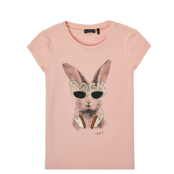 Vêtements Fille T-shirts manches courtes Ikks XS10342-32-J Rose