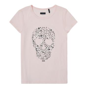 Vêtements Fille T-shirts manches courtes Ikks XS10492-31-J Rose