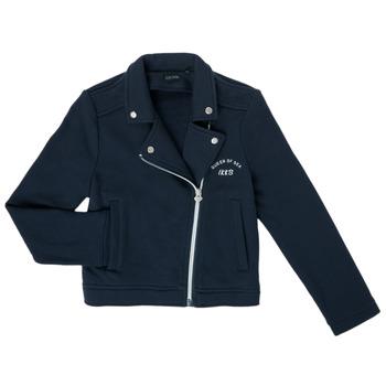 Vêtements Fille Gilets / Cardigans Ikks XS17072-48-C Marine