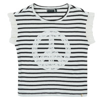 Vêtements Fille T-shirts manches courtes Ikks KILOMEO Multicolore