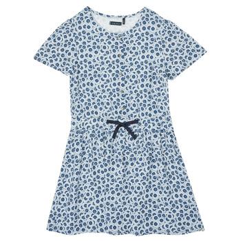 Vêtements Fille Robes courtes Ikks XS30102-48-C Bleu