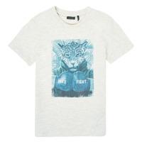 Vêtements Garçon T-shirts manches courtes Ikks XS10183-22-C Blanc