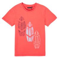 Vêtements Garçon T-shirts manches courtes Ikks CAMILLA Rouge