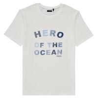 Vêtements Garçon T-shirts manches courtes Ikks PHILOMA Blanc