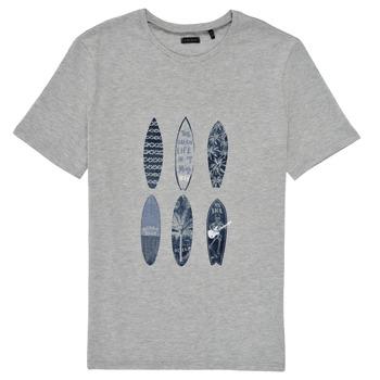 Vêtements Garçon T-shirts manches courtes Ikks RATRA Gris