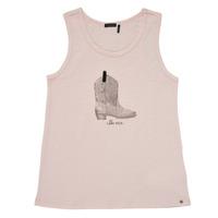 Vêtements Fille Débardeurs / T-shirts sans manche Ikks COMPENS Rose