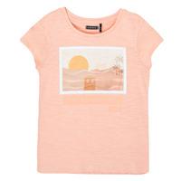 Vêtements Fille T-shirts manches courtes Ikks THANSI Rose