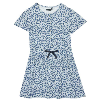 Vêtements Fille Robes courtes Ikks BOLILA Bleu