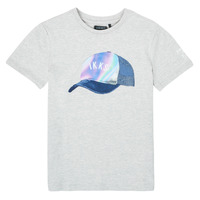 Vêtements Garçon T-shirts manches courtes Ikks SOLIDA Gris