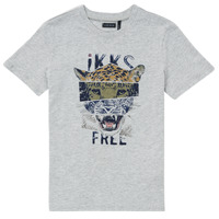 Vêtements Garçon T-shirts manches courtes Ikks TIMEO Gris