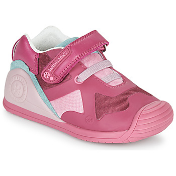 Chaussures Fille Chaussons Biomecanics FUCSIA Rose