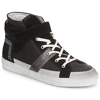Chaussures Femme Baskets montantes Janet Sport ISABEL MARGETTE Noir