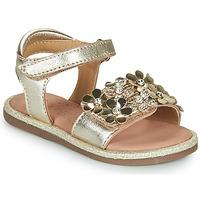 Chaussures Fille Sandales et Nu-pieds Mod'8 PARLOTTE Doré