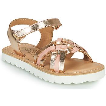 Chaussures Fille Sandales et Nu-pieds Mod'8 JOKINE Rose