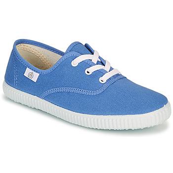 Chaussures Enfant Baskets basses Citrouille et Compagnie KIPPI BOU Bleu