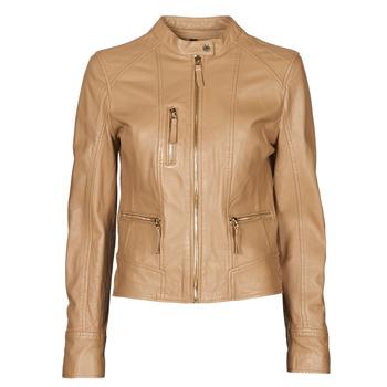 Vêtements Femme Vestes en cuir / synthétiques Oakwood EACH Camel