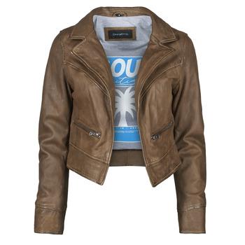 Vêtements Femme Vestes en cuir / synthétiques Oakwood TRISH Marron