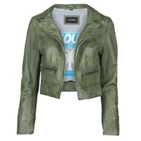 Vêtements Femme Vestes en cuir / synthétiques Oakwood TRISH Vert