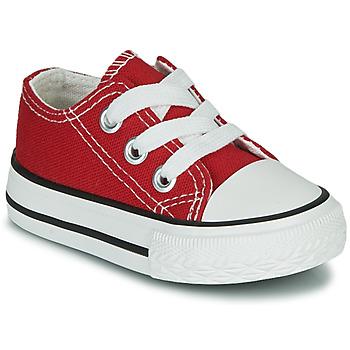 Chaussures Enfant Baskets basses Citrouille et Compagnie OTAL Rouge