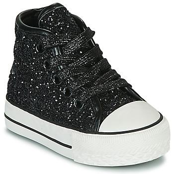 Chaussures Fille Baskets montantes Citrouille et Compagnie OUTIL Noir