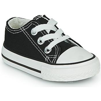 Chaussures Enfant Baskets basses Citrouille et Compagnie OTAL Noir