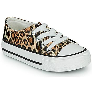 Chaussures Fille Baskets basses Citrouille et Compagnie OTAL Leopard