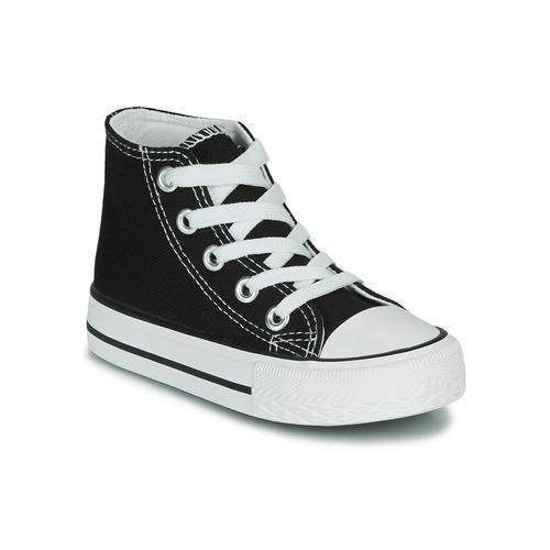 Chaussures Enfant Baskets montantes Citrouille et Compagnie OUTIL Noir