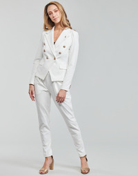 Vêtements Femme Pantalons fluides / Sarouels Les Petites Bombes ALEXANDRA Blanc