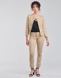 Vêtements Femme Pantalons 5 poches Liu Jo IDEAL Beige