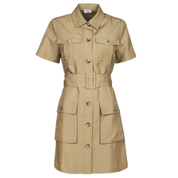 Vêtements Femme Robes courtes Liu Jo WA1301-T4818-X0365 Beige